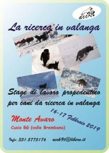 stage valanga 2019